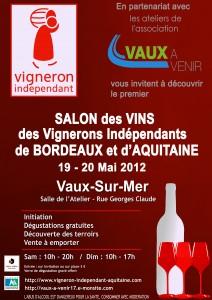 Affiche Vignerons Vaux Sur Mer