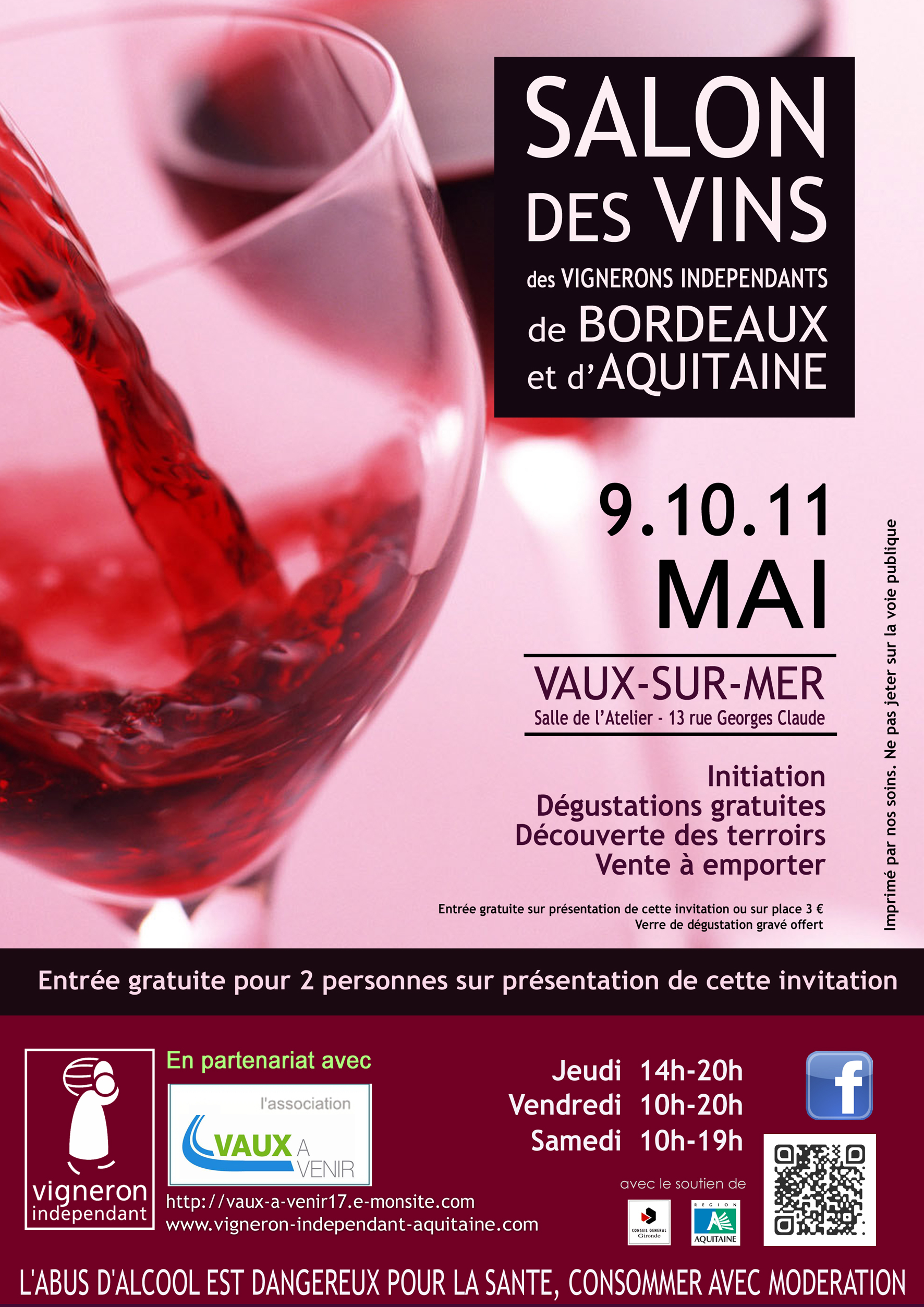 Salon des vins 2013 for Calendrier salon des vins